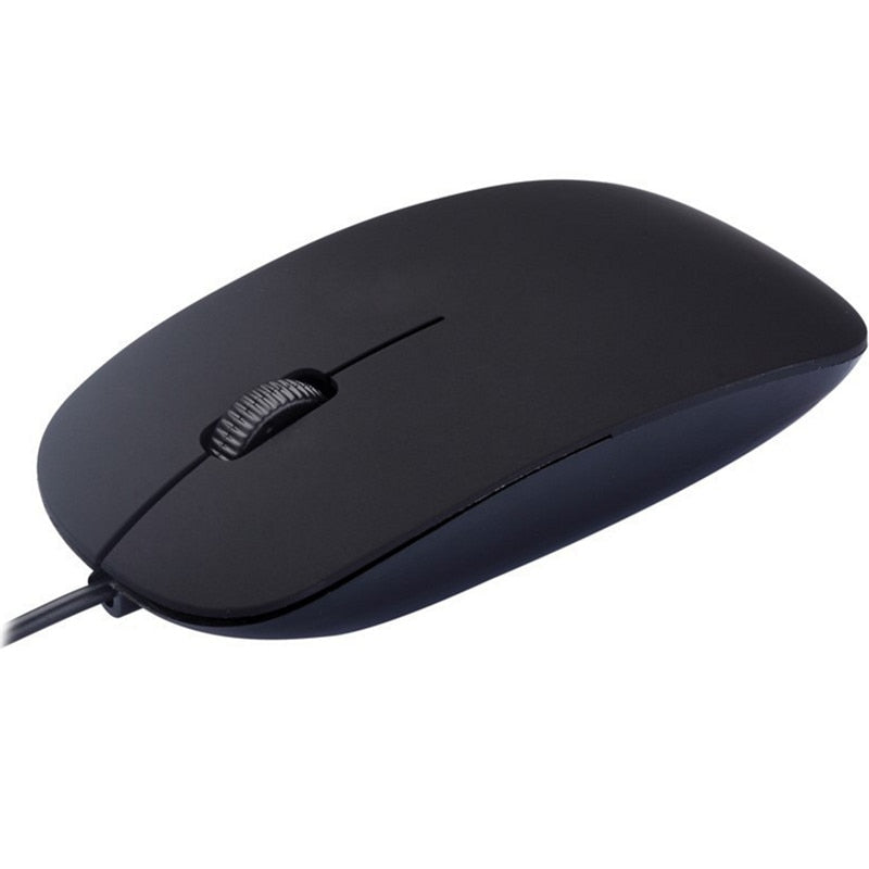 BinFul Hot Sale Brand 3D Optical USB Wired Mouse Mice 1600 DPI Ergonomic Gaming Mouse For PC Laptops