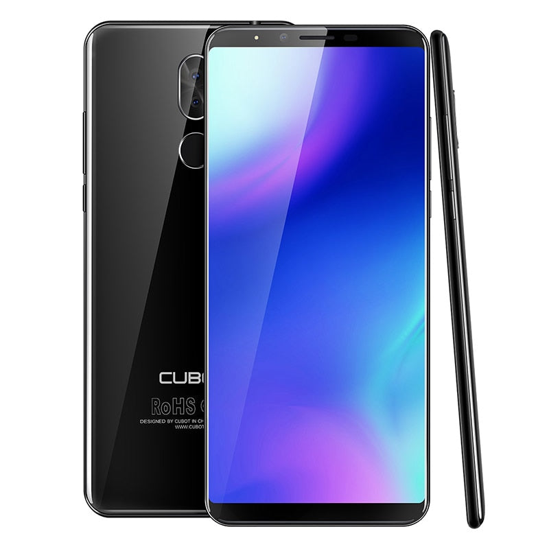 Cubot X18 Plus 18:9 5.99'' 4GB 64GB 2160*1080 Android 8.0 MT6750T Octa-Core 4G Mobile Phone Dual