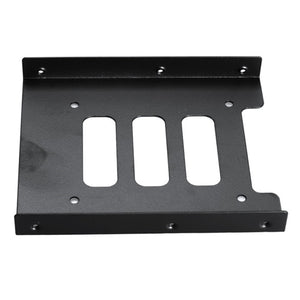 2.5 inch SSD HDD To 3.5 inch Metal Mounting Adapter Bracket Dock Hard Drive Holder Black for PC