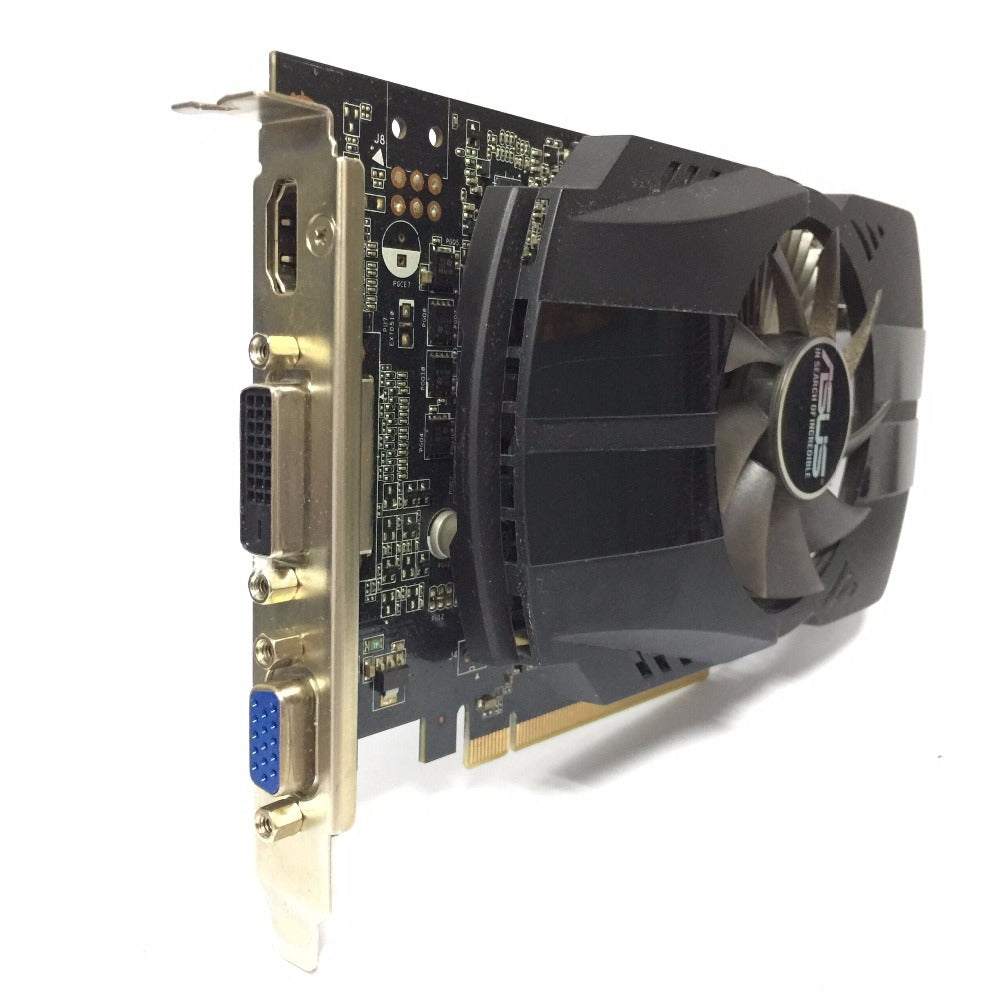 Asus GTX-750TI-OC-2GB GTX750TI GTX 750TI 2G D5 DDR5 128 Bit PC Desktop Graphics Cards PCI Express
