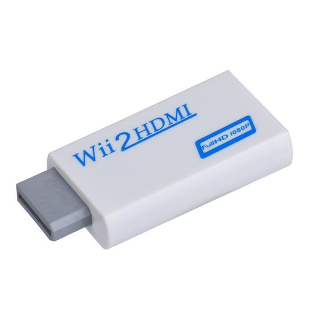 2018 New High Quality Full HD HDMI 1080P Converter Adapter With 3.5 mm Audio Output For Wii 2