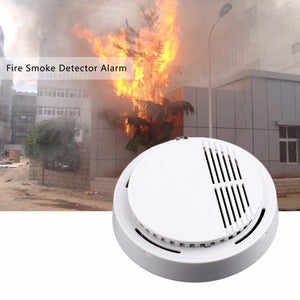 5Pcs Sensor Sensitive Photoelectric Home Independent alarm Smoke Detector Fire Alarm alone Sensor
