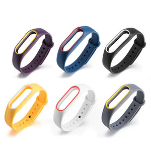 smart watch Silicone strap for Xiaomi Replacement Wrist Band Strap Cover for Xiaomi Mi Band 2