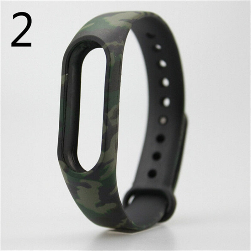 2016 NEW 1pcs Replace Strap For Mi Band 2 Wristband for Xiaomi Belt Strap For Xiao Mi Band 2