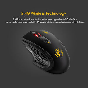 imice Wireless Mouse 4 Buttons 2000DPI High Quality 2.4G Optical Mouse Energy Saving Mice Wireless