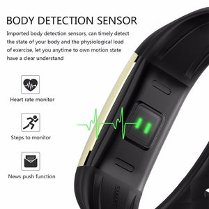Pulsometer Activity Tracker Fitness Tracker Heart Rate Monitor Fitness Bracelet Step Counter Smart