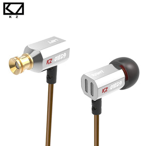 KZ Special ATE ED9 Dynamic Nozzle Earphone In Ear Monitors HiFi Earbuds With Microphone