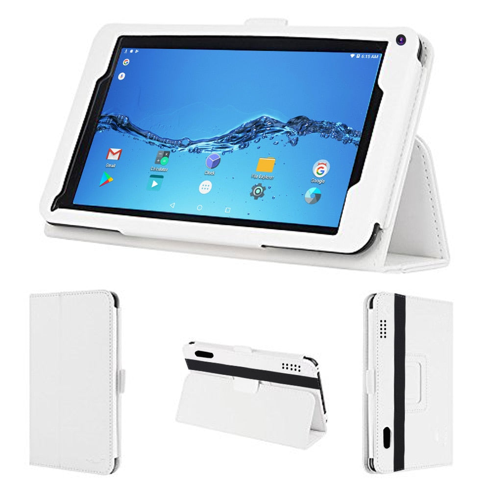 7 Inch Android 6.0 System OS 1GB RAM+16GB ROM Tablet Pc WiFi FM Quad Core MiNi Laptop Tab Pc