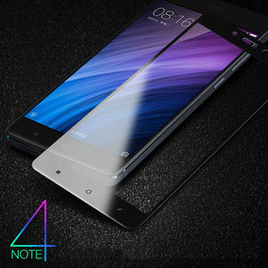 Full Cover Tempered Glass For Xiaomi Redmi 4X Prime Pro 4A 4 Standard Note 4X MTK X20 32GB 64GB