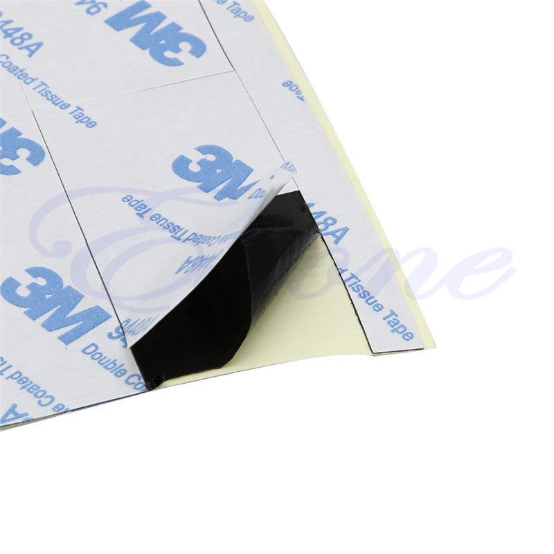 48Pcs x 25*25mm Square Thermal Adhesive Tape For Heatsink Heat Sink High Thermal Conductive