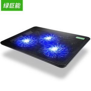 Lightweight Portable Cooling Pads CoolCold K19 USB Two Fans Super Cool Game Notebook Cooler Pad