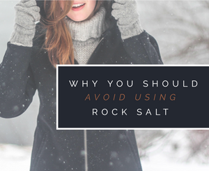 Why You Should Avoid Using Rock Salt