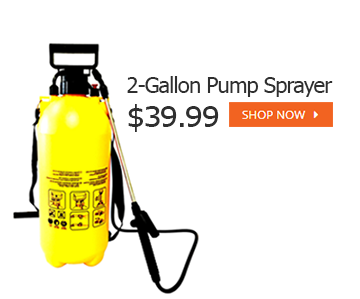 3 gallon pump sprayer