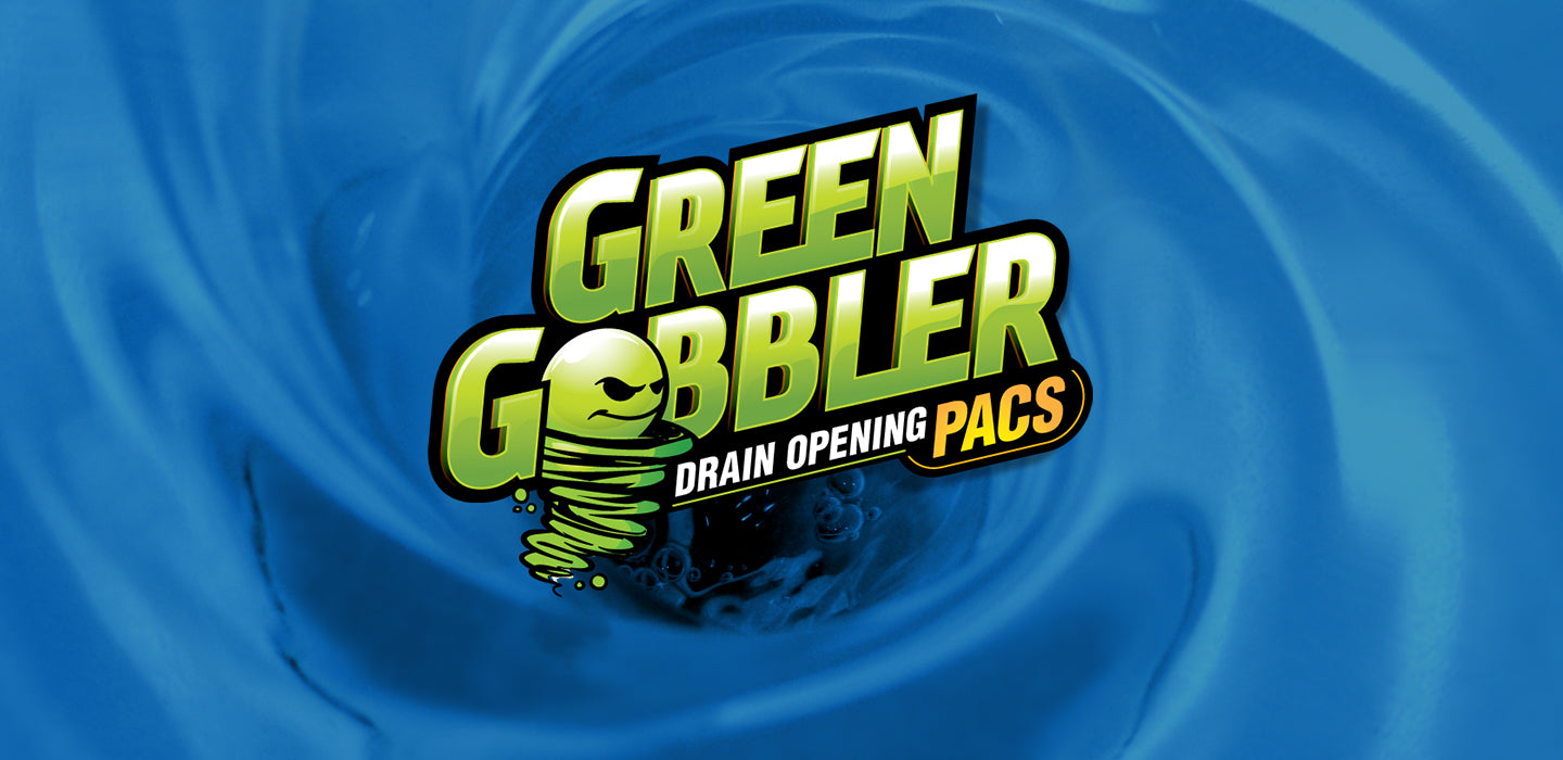 green gobbler drain opening pacs
