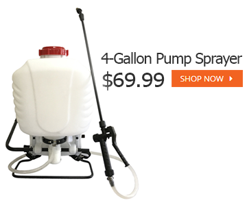 4 gallon pump sprayer