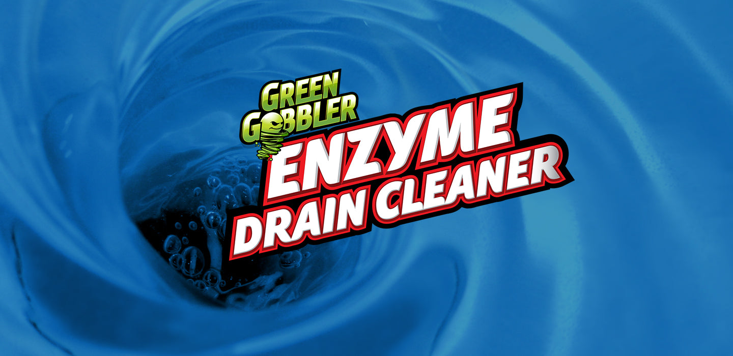 Green gobbler enzyme drain cleaner