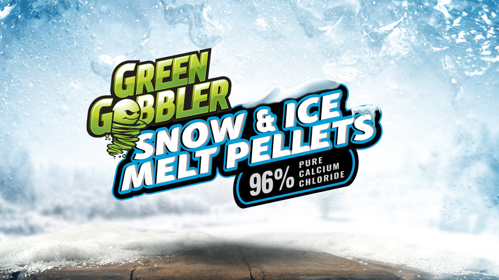 Green Gobbler 96% SNOW & ICE Melter Pellets