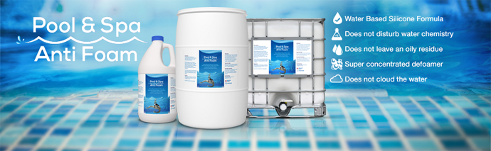 pool and spa anti foam