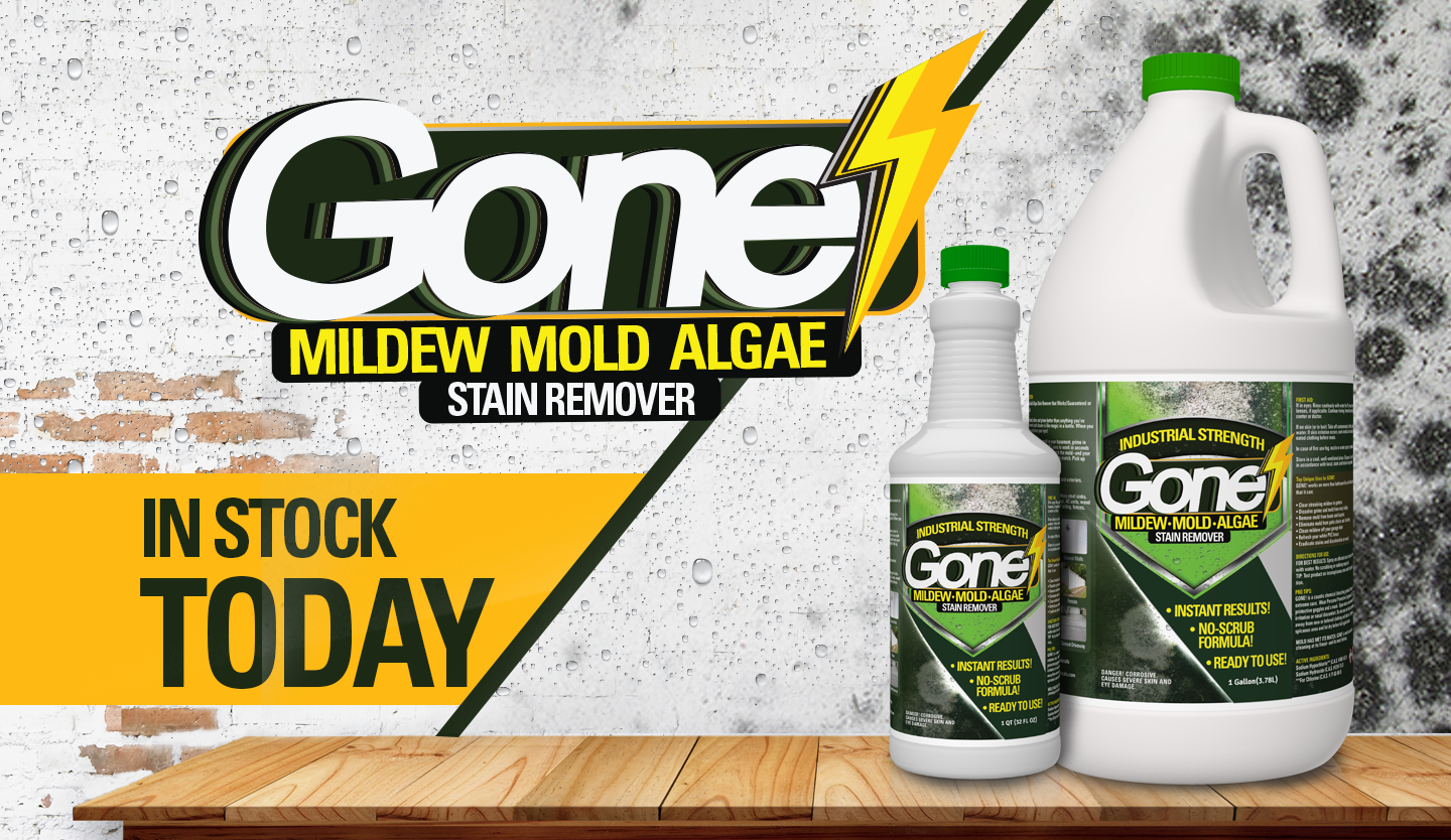 GONE! The Ultimate Mold, Mildew, and Algea Killer