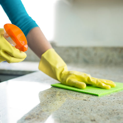kitchen counter top cleaning