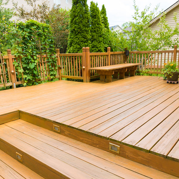 deck bleaching and cleaning