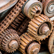 rusty machinery corrosion