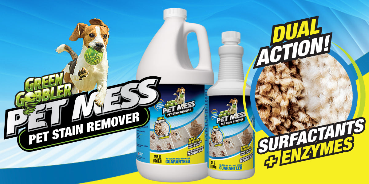 pet stain remover banner