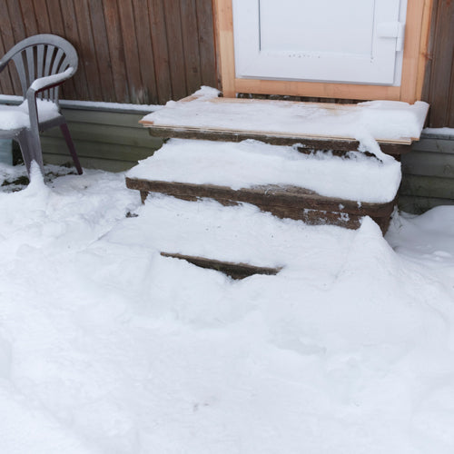 snow and ice melt for porch
