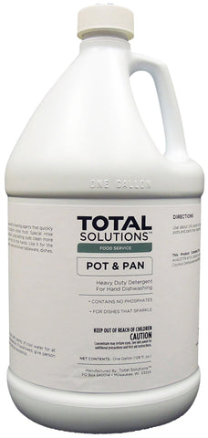 Pot & Pan Heavy- duty Detergent- Manual dishwashing concentrate