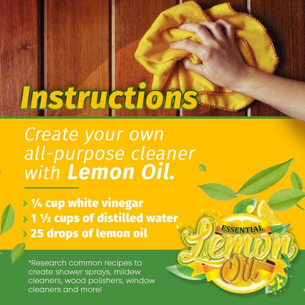 Cold Pressed Essential Lemon Oil