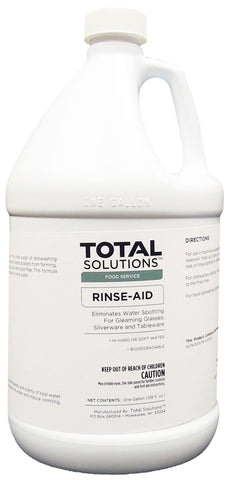 Rinse Aid, Concentrated Additive for all types of dishwashing operations