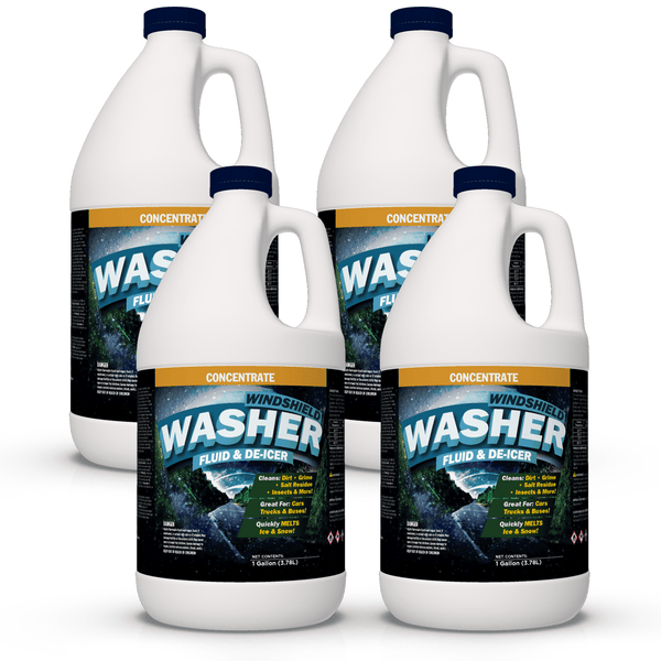 Windshield Washer & Deicer Concentrate (Haz)