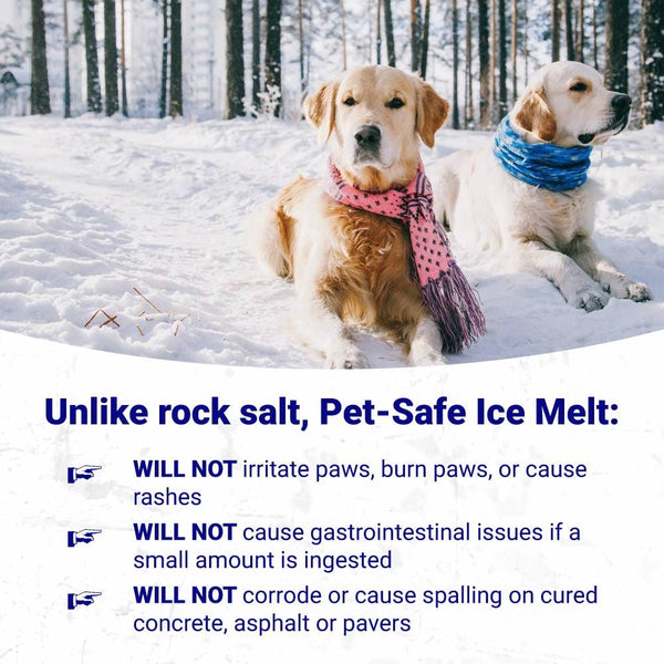 Green Gobbler Magnesium Chloride PET SAFE ICE MELT