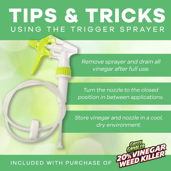 tips and tricks using the trigger sprayer