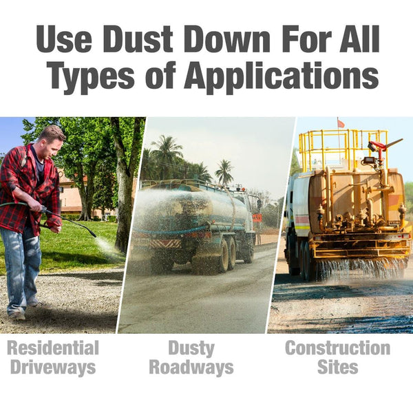"DUST DOWN ""POLY PRO"" Polymer Road Dust Control"