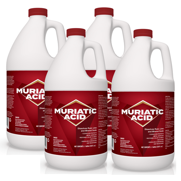 Muriatic Acid Cleaner | Dissolves Rust, Lime, Scale & More! (Haz)