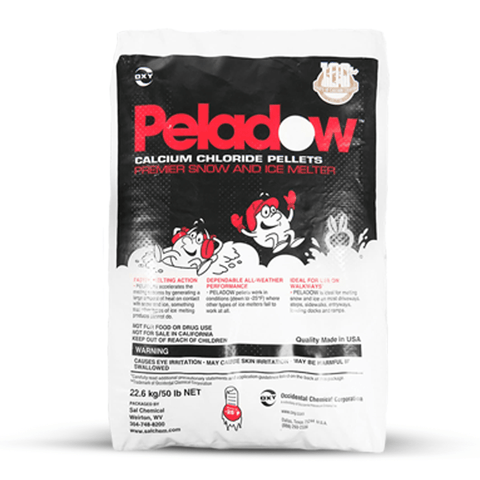 Peladow Snow & Ice Melt - Premium Calcium Chloride