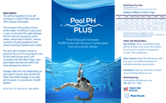 Pool & Spa pH Increaser (Pure Soda Ash, Sodium Carbonate)