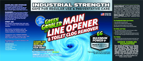 Ultimate Main Drain Sewer Opener & Hair Clog Remover