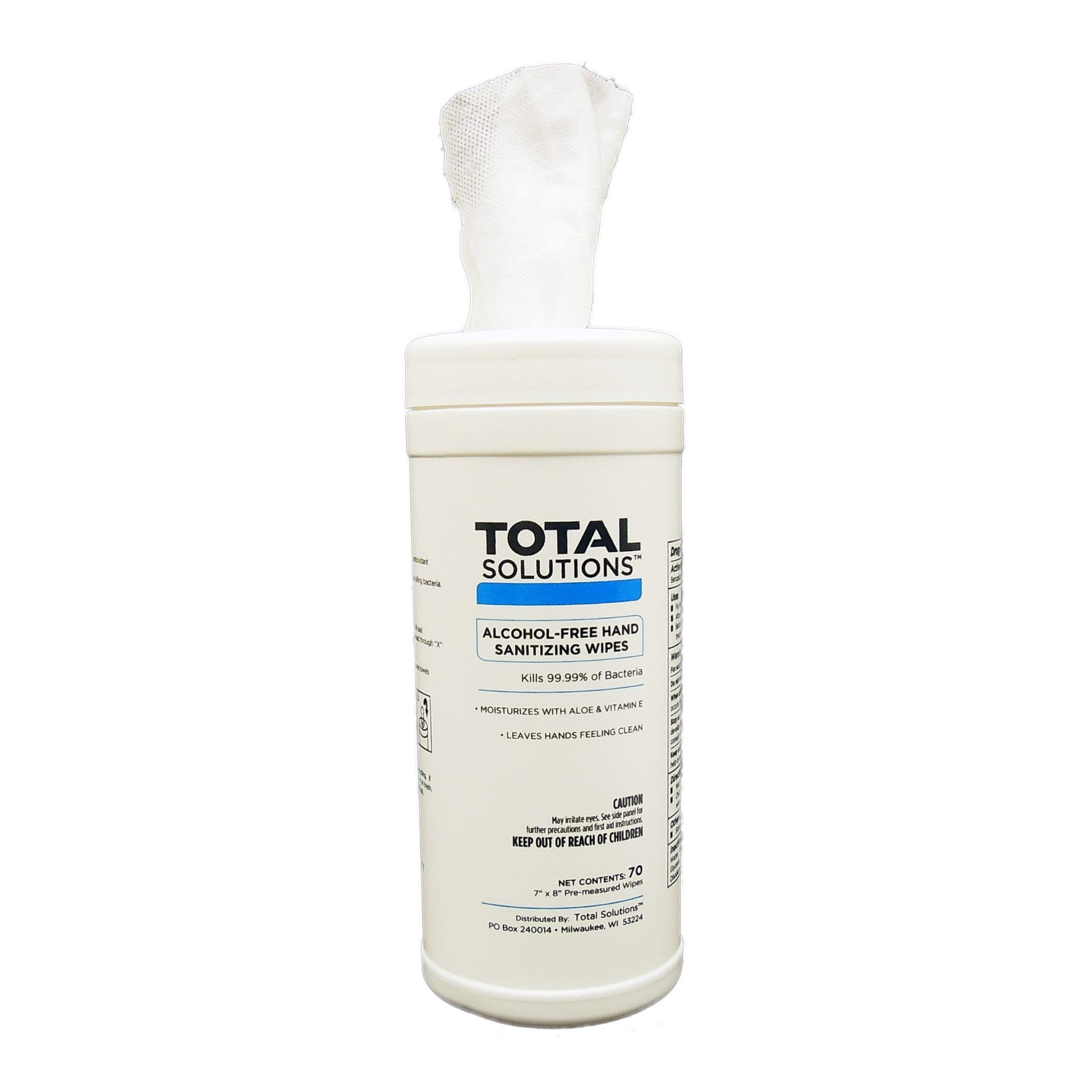 Total Solutions Alcohol-Free Sanitizing Wipes