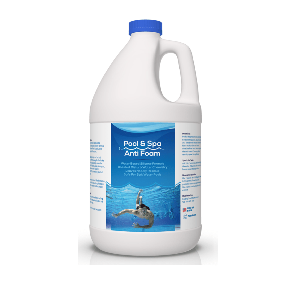 Pool And Spa Anti Foam Factory Direct Chemicals