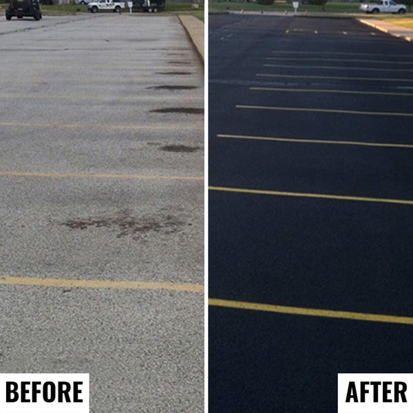 parking lot sealer