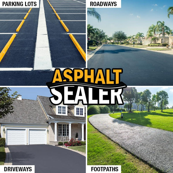 asphalt sealer uses