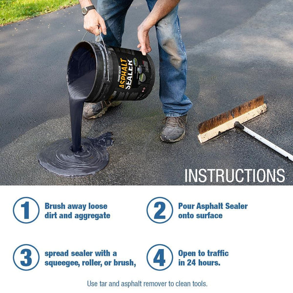 easy to use asphalt sealer