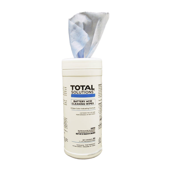 Total Solutions Battery Acid Cleaning Wipes