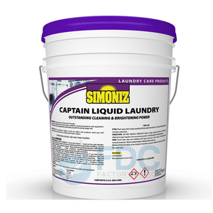 OPL CAPTAIN LIQUID ENZYME LAUNDRY DETERGENT - 5 Gallon Pail