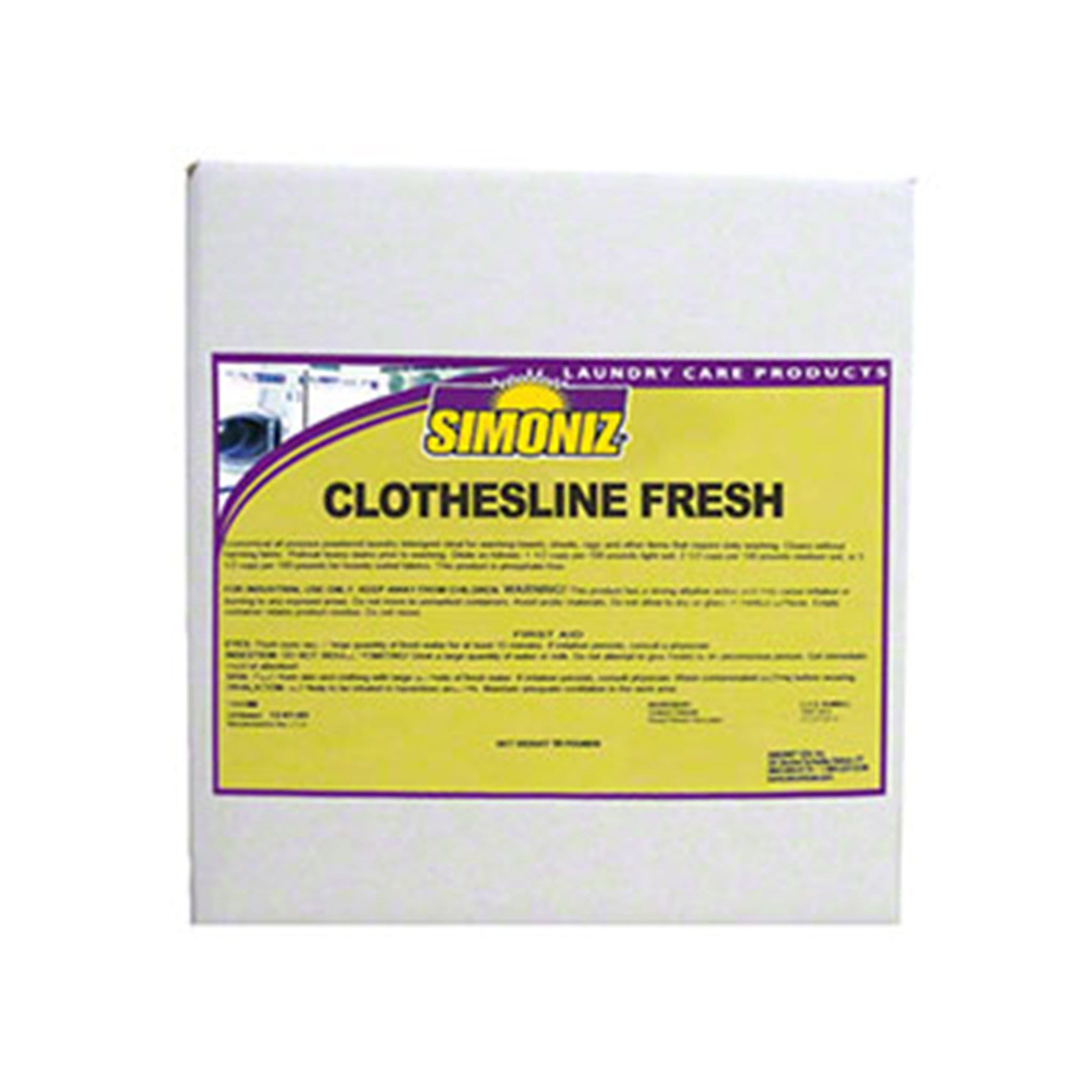 Simoniz Clothesline Fresh Laundry Powder
