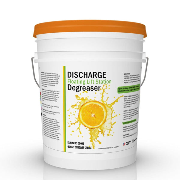 DISCHARGE Floating Lift Station Degreaser