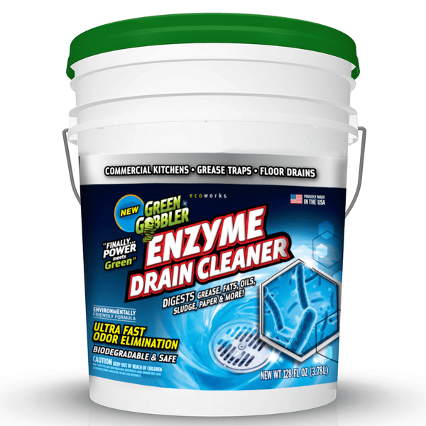 Green Gobbler Enzymes For Grease Trap, Drains & Septic