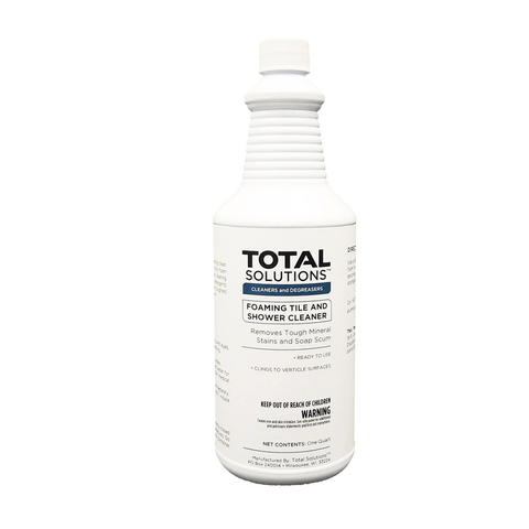 Foaming Tile & Shower Cleaner, Ready-to-use lime & soap scum remover